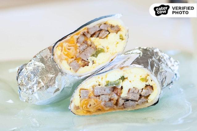 Breakfast Burritos & Beverages