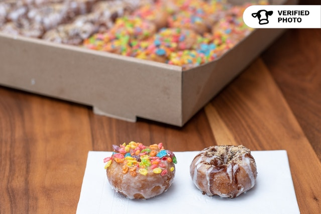 Glazed & Confused's Mini Donuts with Premium Flavors