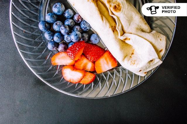 Breakfast Burritos & Fruit