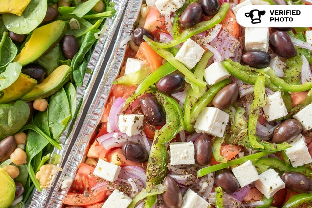 Protein-Packed Greek Salads