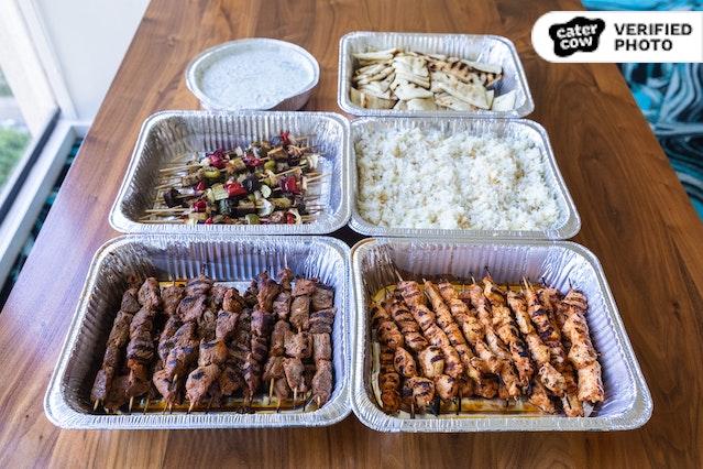Mediterranean Skewer Feast