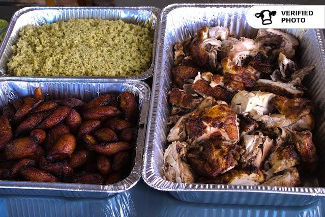 Peruvian Rotisserie Chicken & Sides
