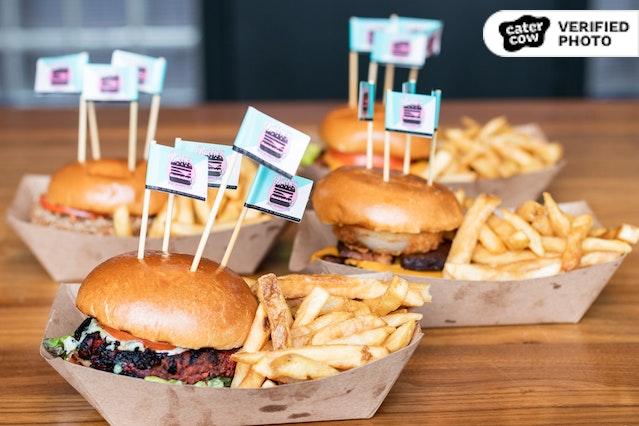 Plant-Based Burgers & Sides