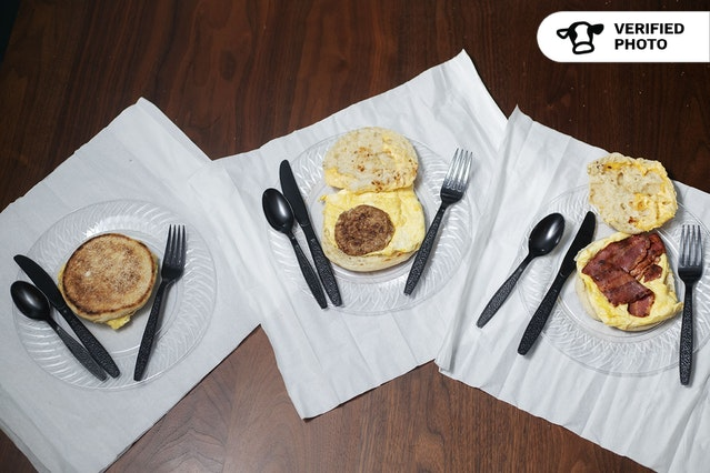 English Muffin Breakfast Sandwiches