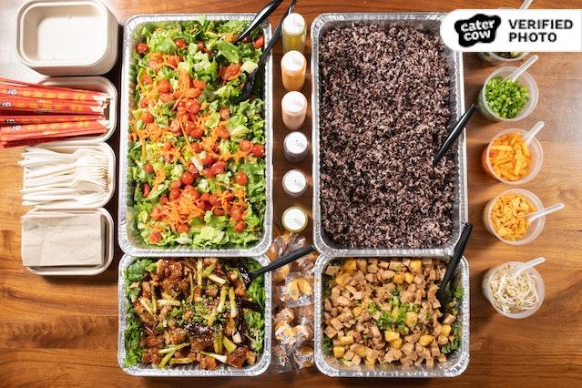 Vegan Pow Pow Bowl Bar
