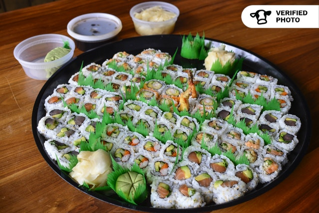 Family-Style Sushi Rolls