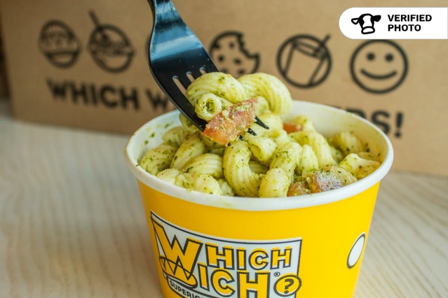 Which Wich's Deluxe Boxed Lunches