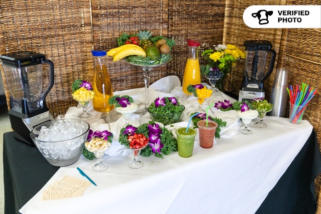 On-Site Smoothie Station!