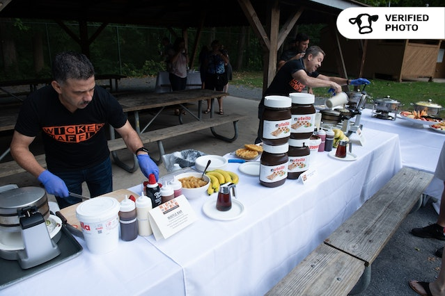 Waffle Bar with On-Site Chef