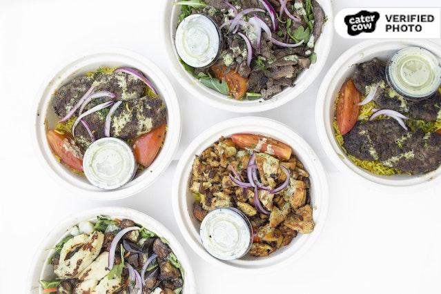 Shawerma Rice / Salad Bowls