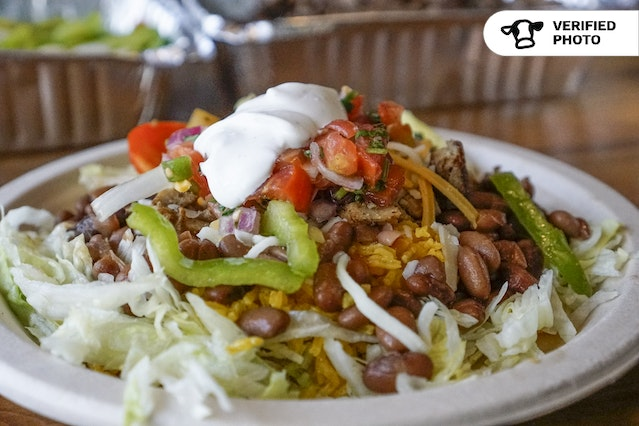 Build Your Own Burrito Bowls