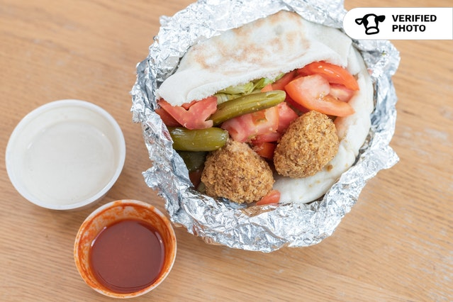Kosher & Plant-Based Falafel Sandwiches