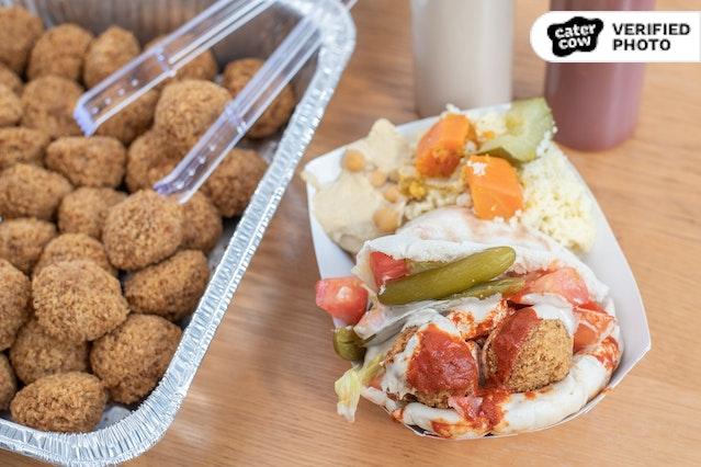 BYO Falafel Sandwich (Kosher & Plant-Based!)