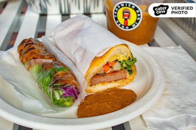 Sandwich Hag's Bánh Mìs & Spring Rolls