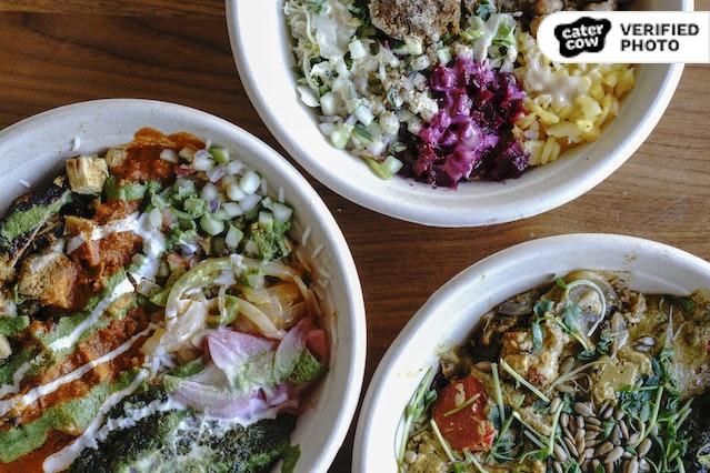 Rasa's Indian Green & Grain Bowls