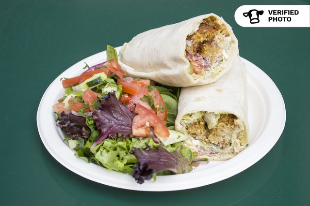 Turkish Lavash Wraps with Salad