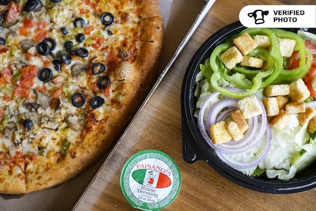 New York Style Gourmet Pizzas & Sides