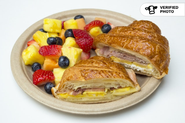 Croissant Sandwiches & Fresh Fruit