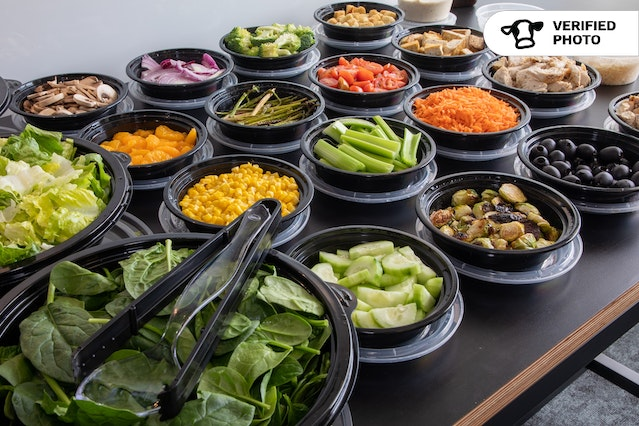 Classic Salad Bar with LOTS of Toppings!