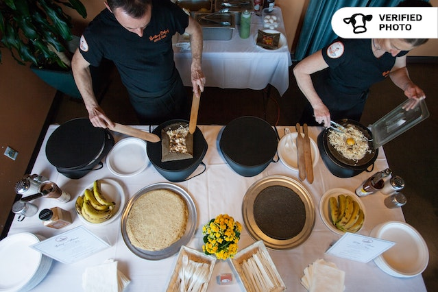 Deluxe On-site Savory & Sweet Crepes - Angel Island Package