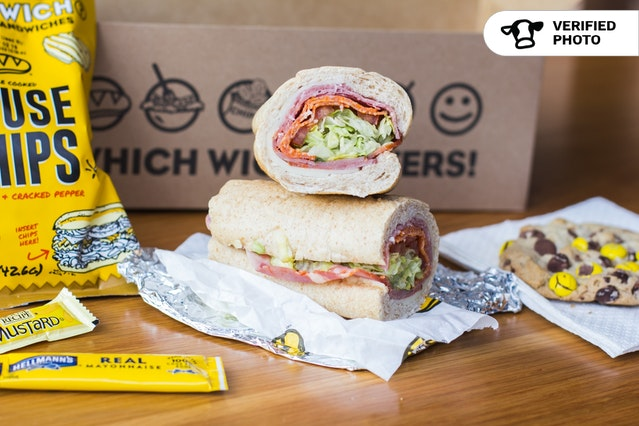 Which Wich's Classic Boxed Lunches