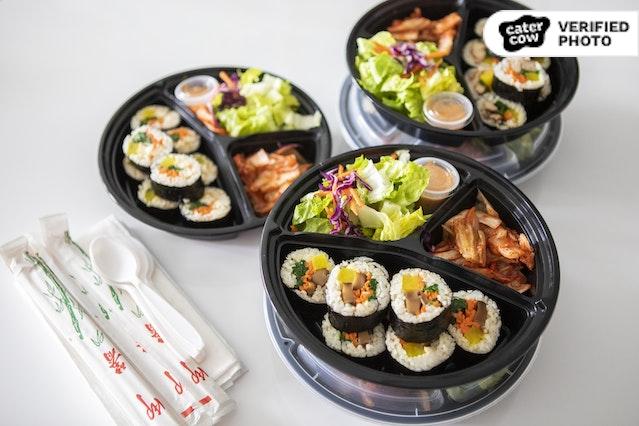 Kim Bap Boxed Meals