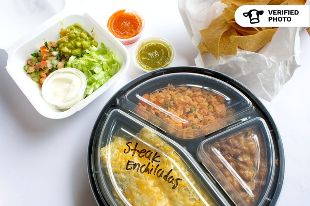 Individual Enchilada Plates