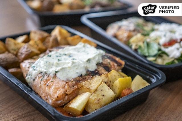 Individually-Boxed Hot Meals
