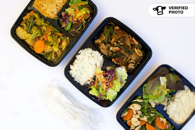 Thai To Go Boxed Lunches