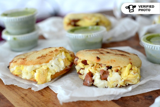 Individually Wrapped Breakfast Arepas