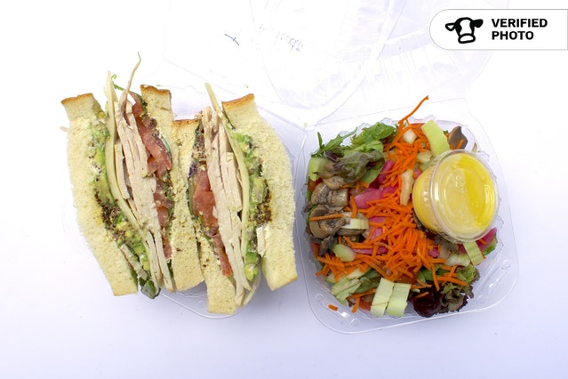 Patisserie Sandwiches & Sides (Individually Wrapped)