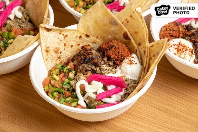 Individual Lebanese-Armenian Grain Bowl