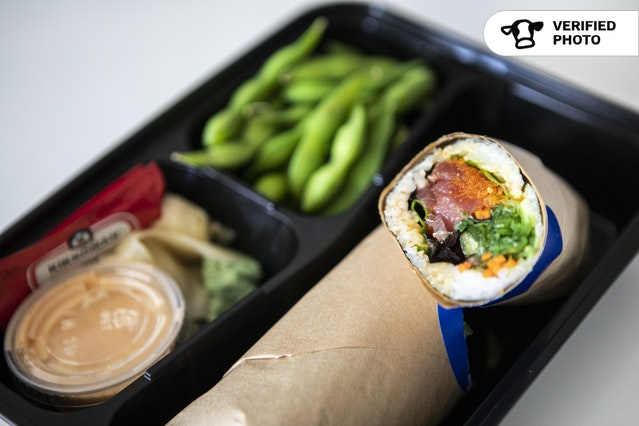 Individual Sushi Burrito Meal