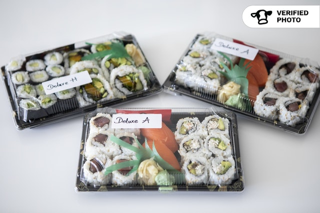 Individual Deluxe Sushi Boxes
