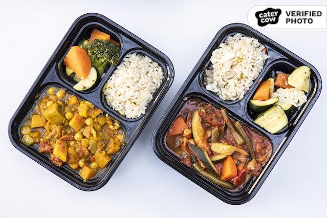 Individual Hot Entree Meal Boxes