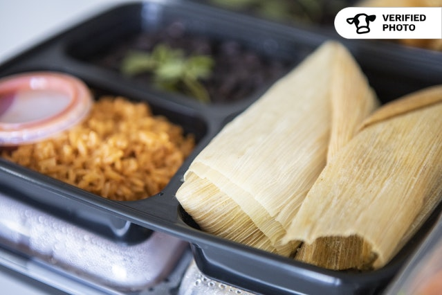 Hearty Tamale Meal To-Go!
