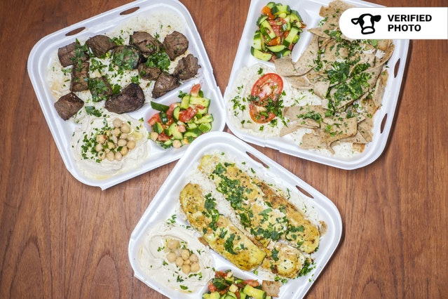 Individual Shawarma Entrees