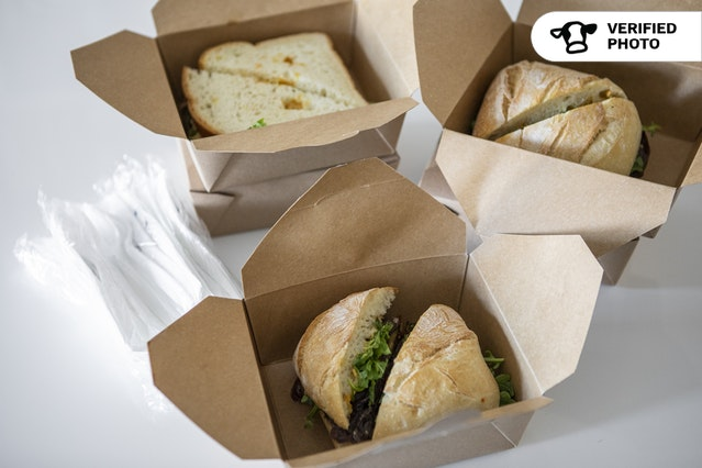 Individually Packaged Fusion Sandwiches