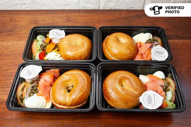 Nova Lox Breakfast Box