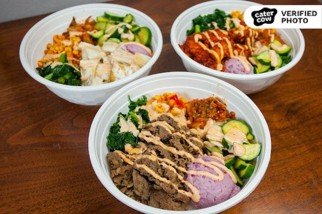 Silla Korean Rice Bowls
