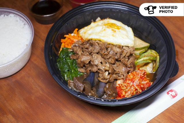 Korean Bibimbap & Salad Bowls