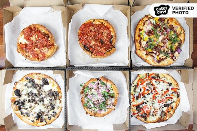 Blue Line Individual Pizzas