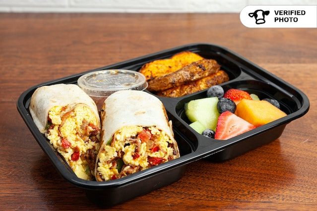 Breakfast Burrito Boxes