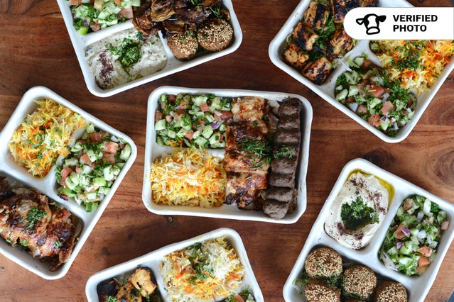 Mediterranean Grill Individual Platters