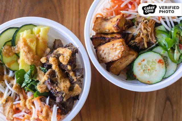 Individual Vietnamese Fresh Bowls
