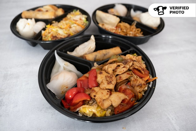 Dim Sum Combo Boxed Meal