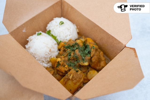 Chef-Prepared Indian-Fijian Individual Boxed Meals