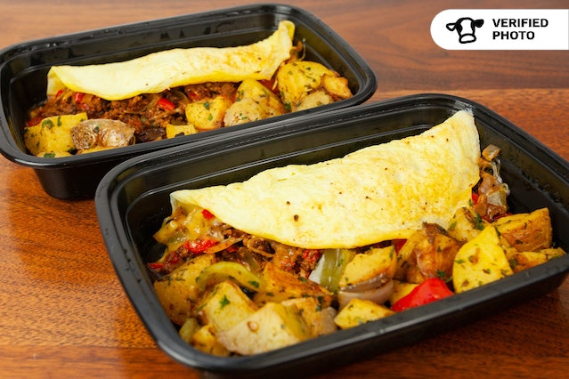 Breakfast Omelet box