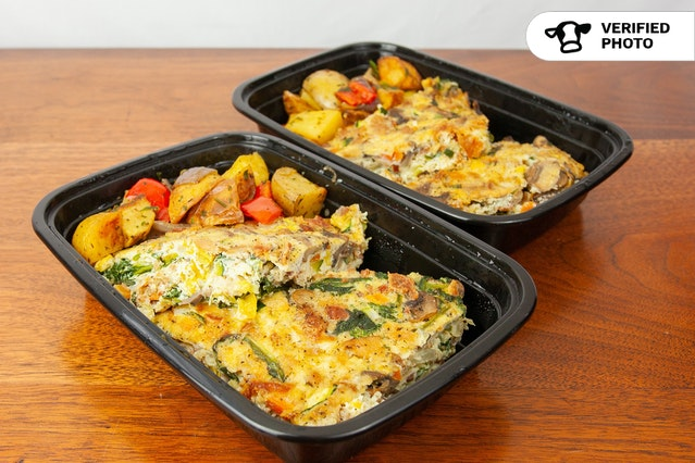 Healthy Breakfast Frittatas Meal