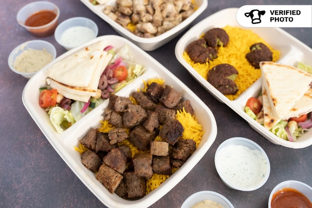 Hella Halal's Platter To Go